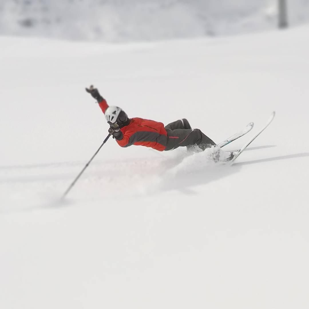 Matthew Dieumegard-Thornton Skiing