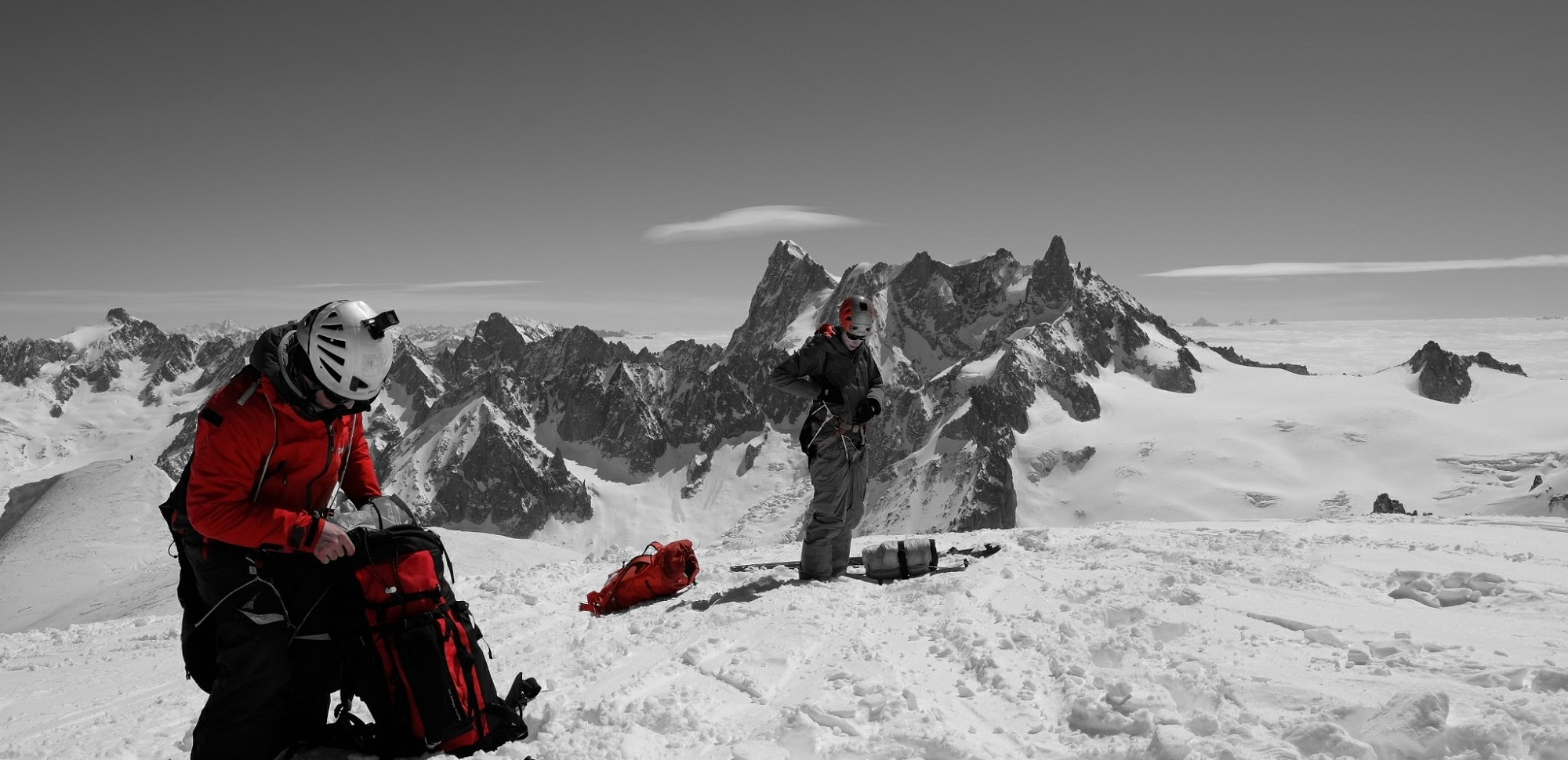 With Scott Becker on the Midi Arete